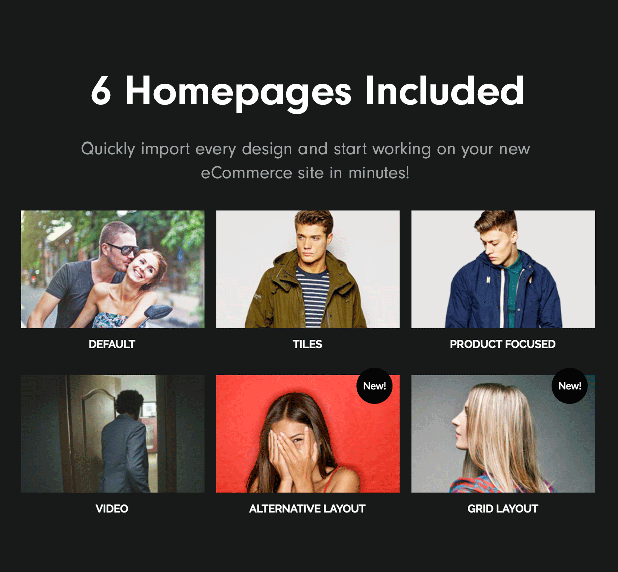 6 Homepages