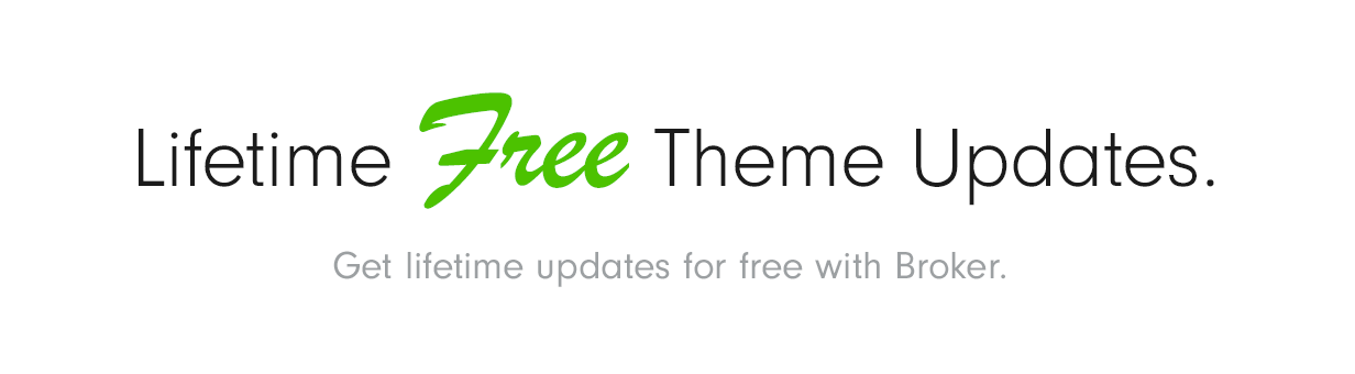 Free Updates Broker – Business and Finance WordPress Theme Nulled Free Download free updates