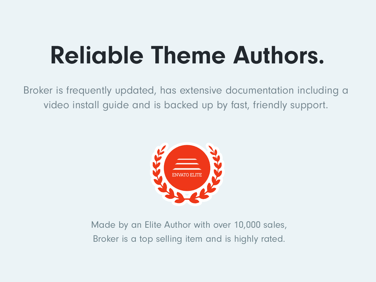 Reliable Elite Theme Authors with over 10,000 sales Broker – Business and Finance WordPress Theme Nulled Free Download reliability2019
