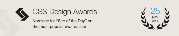Design Award Nominee