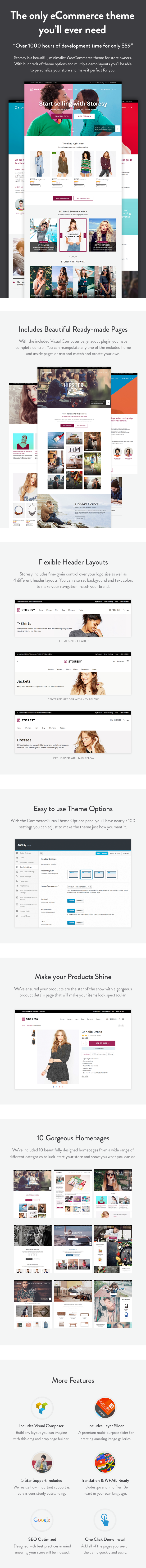 Storesy Features
