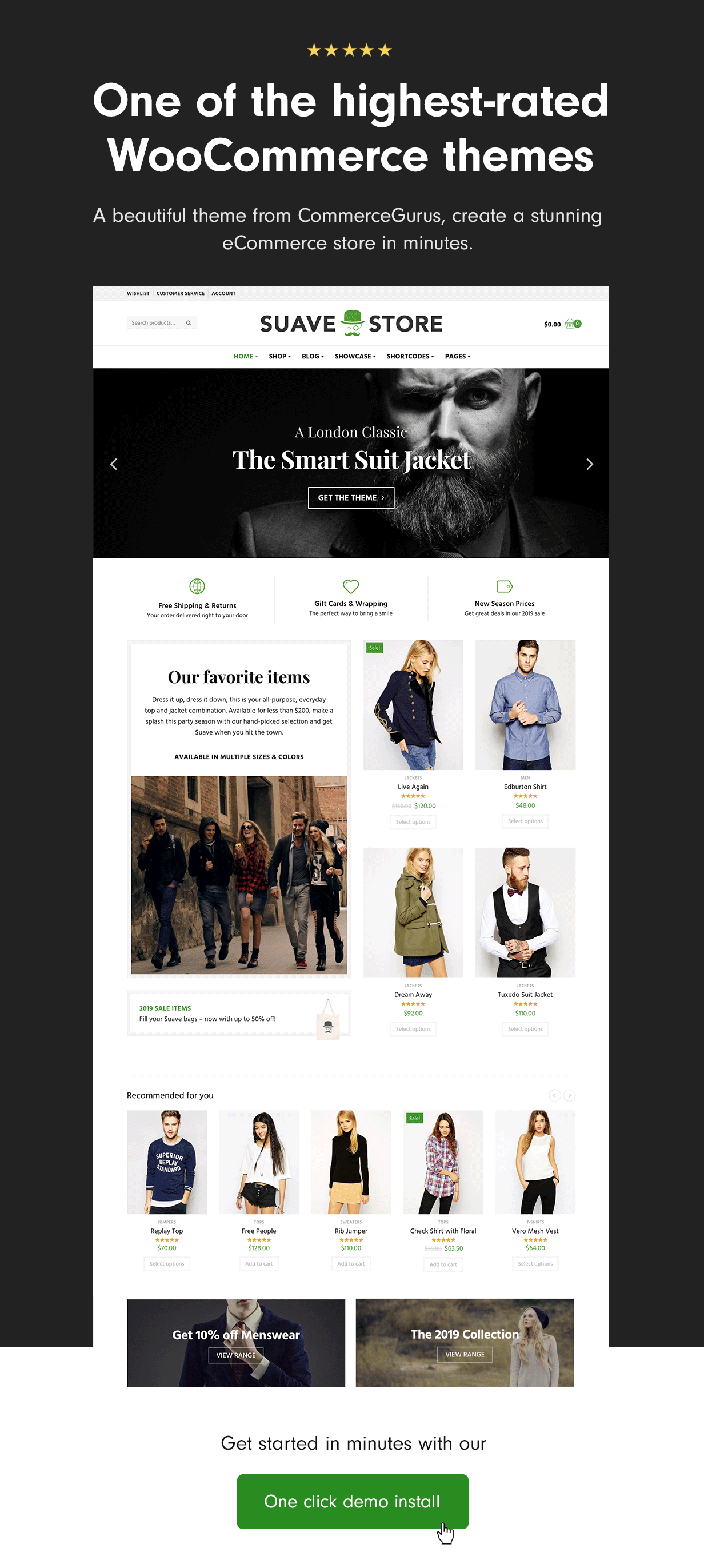 Fantastic WooCommerce theme